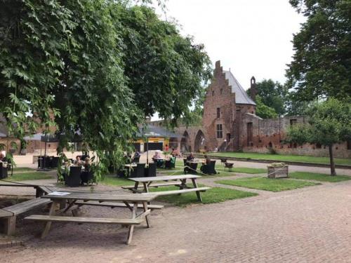 Binnenplein Kasteel Doornenburg